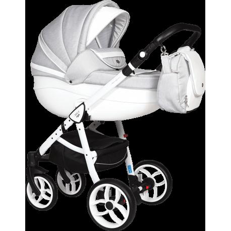 NOWOŚĆ Baby Merc Wózek dziecięcy Neo 2 Style 3w1