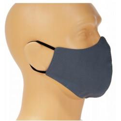 Maseczka ochronna na twarz Dwuwarstwowa A-Popiel